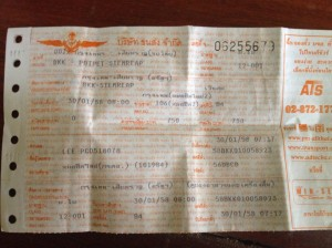 Official Bus Tickets