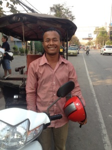 Sokann - the tuk tuk driver with a big heart!
